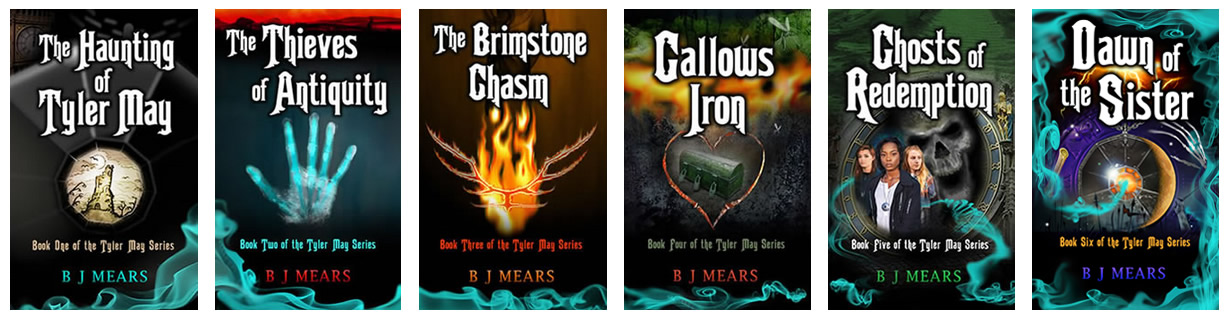 six books of the Tyler May series